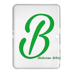 Belicious World  b  In Green Samsung Galaxy Tab 4 (10 1 ) Hardshell Case  by beliciousworld