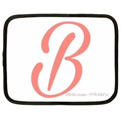Belicious World  b  In Coral Netbook Case (xxl)  by beliciousworld