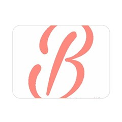 Belicious World  b  In Coral Double Sided Flano Blanket (mini)  by beliciousworld