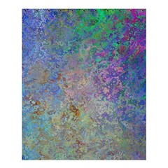 Colorful Pattern Blue And Purple Colormix Shower Curtain 60  X 72  (medium)  by paulaoliveiradesign