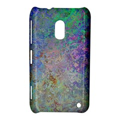 Colorful Pattern Blue And Purple Colormix Nokia Lumia 620 by paulaoliveiradesign