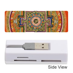 Asian Art Mandala Colorful Tibet Pattern Memory Card Reader (stick)  by paulaoliveiradesign