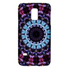 Kaleidoscope Mandala Purple Pattern Art Galaxy S5 Mini by paulaoliveiradesign