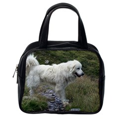 Great Pyrenees Full Classic Handbags (one Side) by TailWags