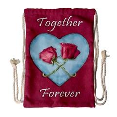 Love Concept Design Drawstring Bag (large) by dflcprints