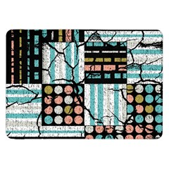 Distressed Pattern Samsung Galaxy Tab 8 9  P7300 Flip Case by linceazul