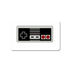 Video Game Controller 80s Magnet (name Card) by Valentinaart