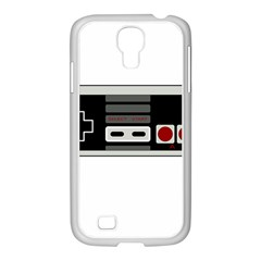 Video Game Controller 80s Samsung Galaxy S4 I9500/ I9505 Case (white) by Valentinaart