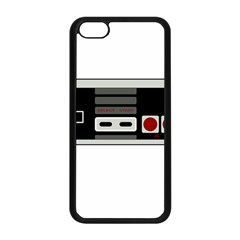 Video Game Controller 80s Apple Iphone 5c Seamless Case (black) by Valentinaart