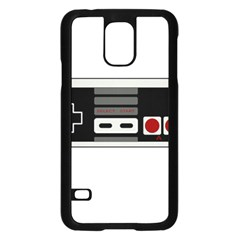 Video Game Controller 80s Samsung Galaxy S5 Case (black) by Valentinaart