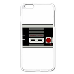 Video Game Controller 80s Apple Iphone 6 Plus/6s Plus Enamel White Case by Valentinaart