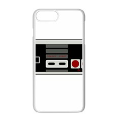 Video Game Controller 80s Apple Iphone 7 Plus White Seamless Case by Valentinaart