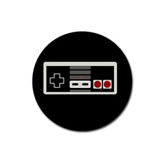 Video Game Controller 80s Magnet 3  (round) by Valentinaart
