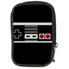 Video Game Controller 80s Compact Camera Cases by Valentinaart