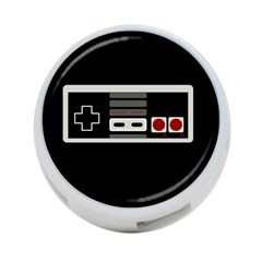 Video Game Controller 80s 4 Port Usb Hub (two Sides)  by Valentinaart