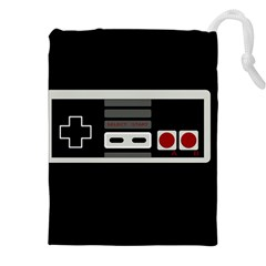 Video Game Controller 80s Drawstring Pouches (xxl) by Valentinaart