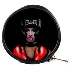 Feminist Mini Makeup Bags by Valentinaart