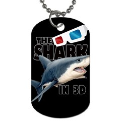 The Shark Movie Dog Tag (two Sides) by Valentinaart