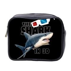 The Shark Movie Mini Toiletries Bag 2 Side by Valentinaart