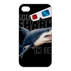 The Shark Movie Apple Iphone 4/4s Hardshell Case by Valentinaart