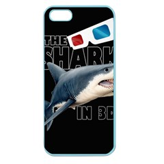 The Shark Movie Apple Seamless Iphone 5 Case (color) by Valentinaart