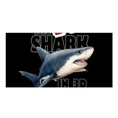 The Shark Movie Satin Shawl by Valentinaart