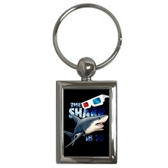 The Shark Movie Key Chains (rectangle)  by Valentinaart
