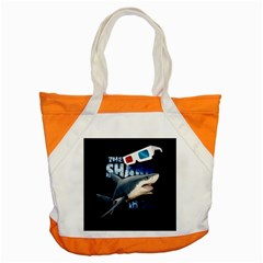 The Shark Movie Accent Tote Bag by Valentinaart