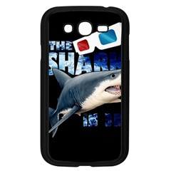 The Shark Movie Samsung Galaxy Grand Duos I9082 Case (black) by Valentinaart