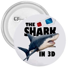 The Shark Movie 3  Buttons by Valentinaart