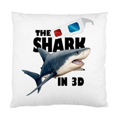 The Shark Movie Standard Cushion Case (one Side) by Valentinaart