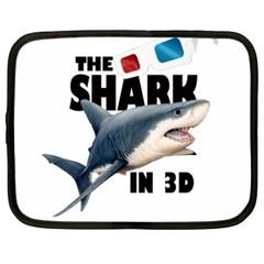 The Shark Movie Netbook Case (xxl)  by Valentinaart