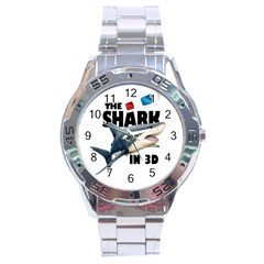 The Shark Movie Stainless Steel Analogue Watch by Valentinaart