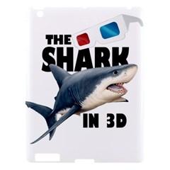 The Shark Movie Apple Ipad 3/4 Hardshell Case by Valentinaart