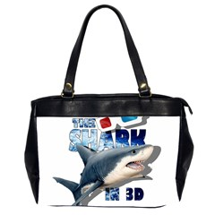 The Shark Movie Office Handbags (2 Sides)  by Valentinaart