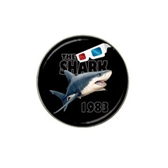 The Shark Movie Hat Clip Ball Marker by Valentinaart