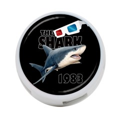 The Shark Movie 4 Port Usb Hub (two Sides)  by Valentinaart