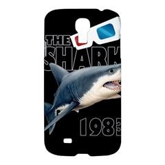 The Shark Movie Samsung Galaxy S4 I9500/i9505 Hardshell Case by Valentinaart