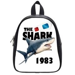 The Shark Movie School Bag (small) by Valentinaart