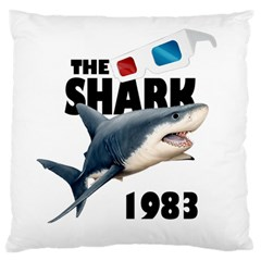 The Shark Movie Standard Flano Cushion Case (two Sides) by Valentinaart
