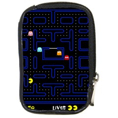 Pac Man Compact Camera Cases by Valentinaart