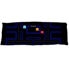 Pac Man Body Pillow Case (dakimakura) by Valentinaart