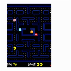 Pac Man Small Garden Flag (two Sides) by Valentinaart