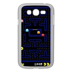 Pac Man Samsung Galaxy Grand Duos I9082 Case (white) by Valentinaart