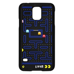 Pac Man Samsung Galaxy S5 Case (black) by Valentinaart