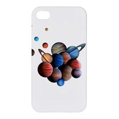 Planets  Apple Iphone 4/4s Premium Hardshell Case by Valentinaart