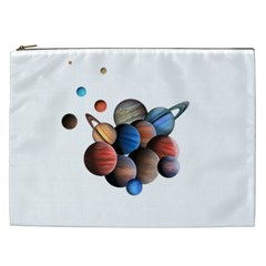 Planets  Cosmetic Bag (xxl)  by Valentinaart