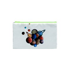 Planets  Cosmetic Bag (xs) by Valentinaart
