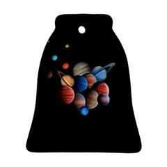 Planets  Ornament (bell) by Valentinaart