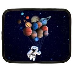 Planets  Netbook Case (xl)  by Valentinaart